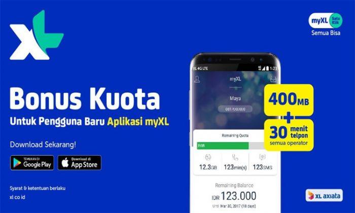 Cek Kuota XL via Aplikasi MyXL