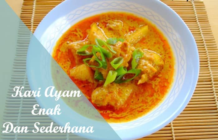 Resep Kari Ayam Enak Dan Sederhana