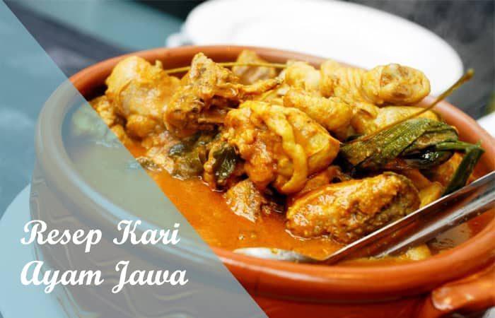 Resep Kari Ayam Jawa