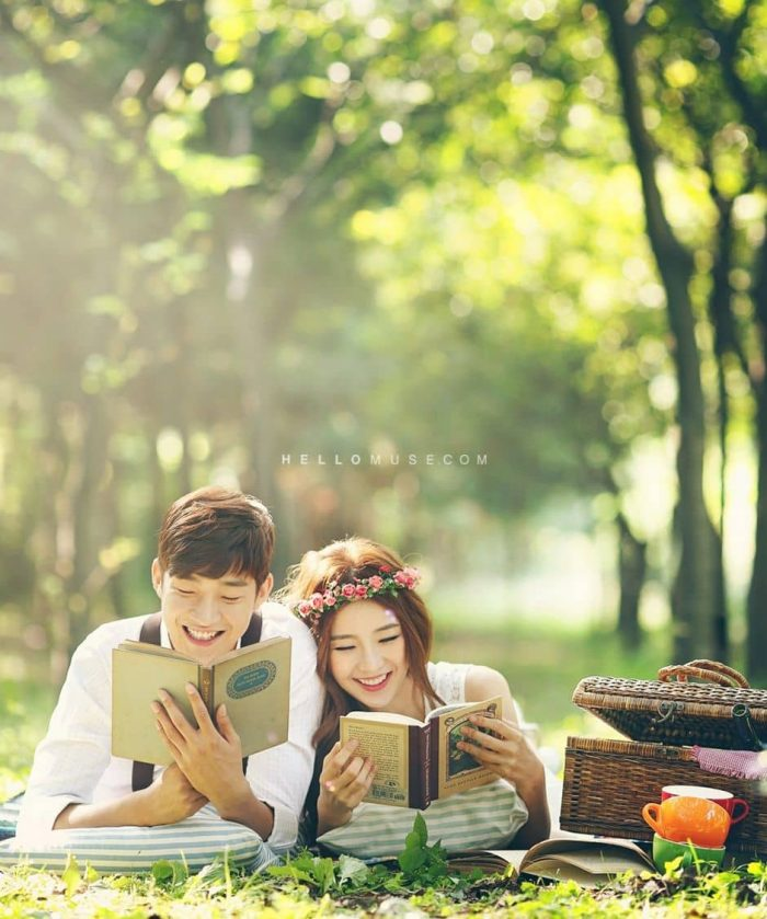 prewedding outdoor hobi