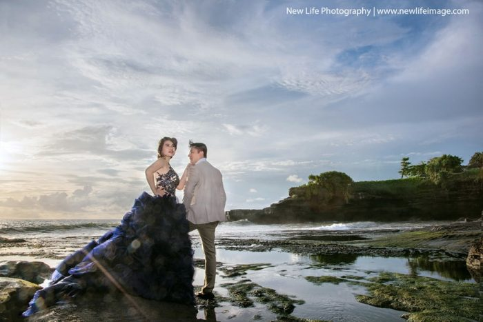 prewedding tanah lot